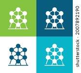 Atomium Flat Four Color Minimal ...