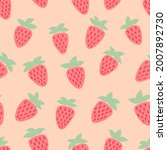 cute seamless pattern on the...   Shutterstock .eps vector #2007892730