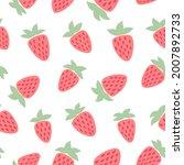 lovely seamless pattern on the...   Shutterstock .eps vector #2007892733