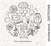 illustration of scientific... | Shutterstock .eps vector #200793368