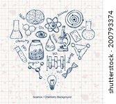 illustration of scientific... | Shutterstock .eps vector #200793374