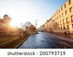 sunny day on hlavna street in... | Shutterstock . vector #200793719