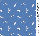 seamless pattern with white...   Shutterstock .eps vector #2007938936