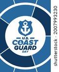 u.s. coast guard day in united...   Shutterstock .eps vector #2007993230