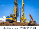 Construction Machinery At The...