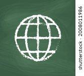 globe related outline line... | Shutterstock .eps vector #2008011986