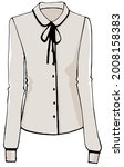 fashionable clothes and modern... | Shutterstock .eps vector #2008158383