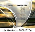 eps10 vector realistic blurred...   Shutterstock .eps vector #200819204