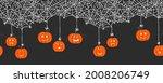 cute hand drawn halloween...   Shutterstock .eps vector #2008206749