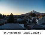 Sunrise View Of Mount Fuji From ...