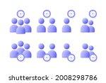 time management user  business...   Shutterstock .eps vector #2008298786