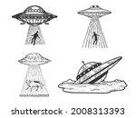Ufo Flying Saucer Kidnaps Human ...