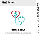 annual medical checkup thin... | Shutterstock .eps vector #2008324673