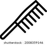 comb with white background....   Shutterstock .eps vector #2008359146