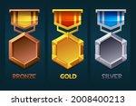 level up badge reward icon gold ...