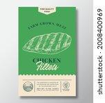 farm grown meat abstract vector ...   Shutterstock .eps vector #2008400969