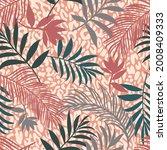 botanical seamless pattern... | Shutterstock .eps vector #2008409333