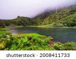 Azores Scenic Landscape  Flores ...