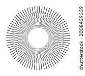 dashed lines spiral  swirls ... | Shutterstock .eps vector #2008439339