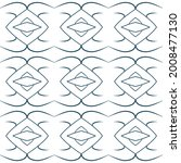 hand drawn seamless repeat... | Shutterstock .eps vector #2008477130