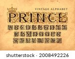 the word prince decorated with... | Shutterstock .eps vector #2008492226
