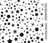 random star shape pattern ... | Shutterstock .eps vector #2008498703