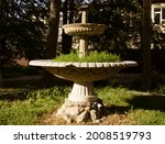 Abandoned Fountain Without...