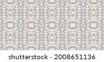 ikat border. geometric folk...   Shutterstock .eps vector #2008651136