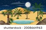 Desert Forest Landscape At...