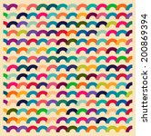 seamless colorful waves for...