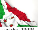 waving flag of qatar  middle... | Shutterstock . vector #200870084