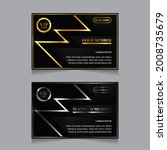 vector vip golden and platinum...   Shutterstock .eps vector #2008735679
