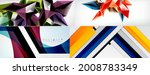 collection of vector abstract... | Shutterstock .eps vector #2008783349