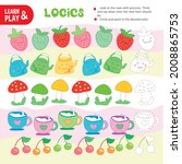 logic color chain kid game... | Shutterstock .eps vector #2008865753