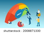 vector of a group of people... | Shutterstock .eps vector #2008871330