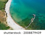 Small photo of The Punta Aderci Nature Reserve was established in 1998. It offers one of the most beautiful stretches of coast in Abruzzo and Italy with traditional fishing platform Trabocchi. Italy Vasto