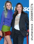Small photo of LOS ANGELES - JUL 15: Charlotte Lawrence, Christa Miller at the Ted Lasso Season 2 Premiere Screening at the Pacific Design Center Rooftop on July 15, 2021 in Los Angeles, CA