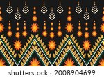 tribal ethnic vector pattern... | Shutterstock .eps vector #2008904699
