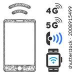 mesh mobile irda signal web... | Shutterstock .eps vector #2008915499