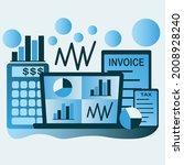 accountant design vector...