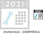 mesh 2021 repair day model icon.... | Shutterstock .eps vector #2008948316