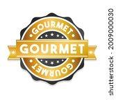 gourmet badge icon seal.... | Shutterstock .eps vector #2009000030