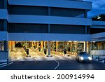 night time parking at the... | Shutterstock . vector #200914994