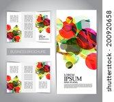 tri fold brochure design modern | Shutterstock .eps vector #200920658