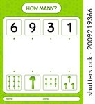 how many counting game with...   Shutterstock .eps vector #2009219366