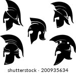 spartan helm variations set  in ...