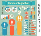 human issues infographics... | Shutterstock .eps vector #200938580