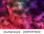 light pink  red vector low poly ... | Shutterstock .eps vector #2009397833