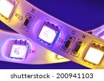 macro detail of a rgbw led...   Shutterstock . vector #200941103