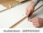 master man install assembling... | Shutterstock . vector #2009424263
